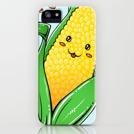 i love corn iPhone Case