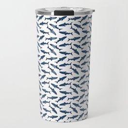 Whale Shark Pattern Travel Mug