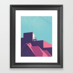 ROOFTOP Framed Art Print