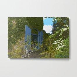 Garden Tower, Secret Garden Series Metal Print