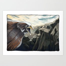 PROMETHEUS IV Art Print