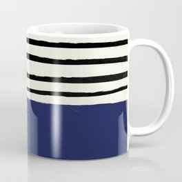 Navy x Stripes Coffee Mug