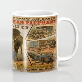 Vintage poster - Jumbo Coffee Mug