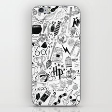Hogwarts, Hogwarts, Hoggy Warty Hogwarts iPhone & iPod Skin
