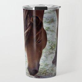Grazing Pony Travel Mug