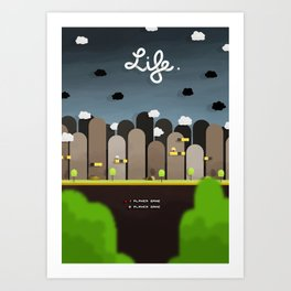 Uniform Motion - Life Art Print