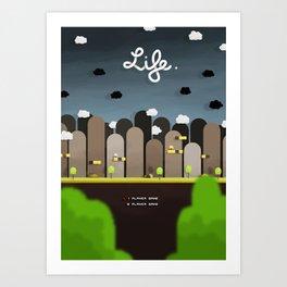 Uniform Motion - Life Art Print