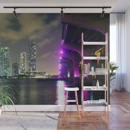Downtown Miami Wall Mural