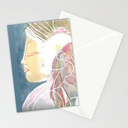 Egyptian Profile Stationery Cards