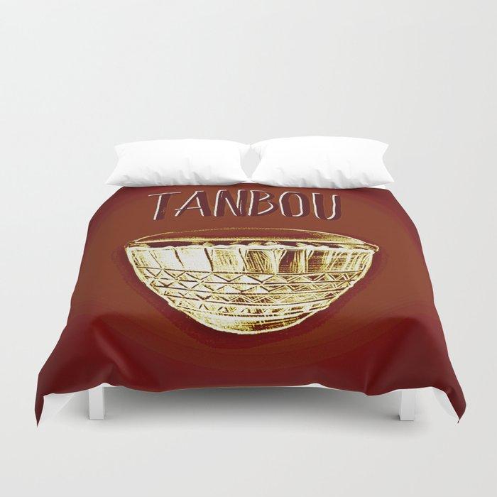 Tanbou Duvet Cover