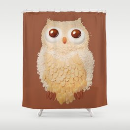 Owlmond 1 Shower Curtain