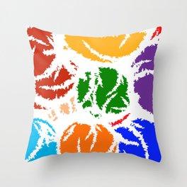 PAINT SPASH  Throw Pillow