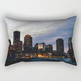 Christmas in Boston Rectangular Pillow