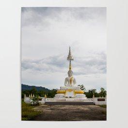Thailand tempel Khao lak Poster