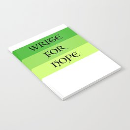WRITE FOR HOPE Notebook