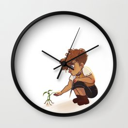 Newt and Pickett Wall Clock