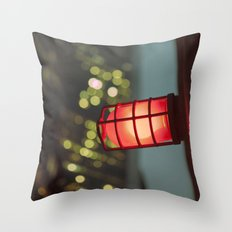 modern moonlight... Throw Pillow