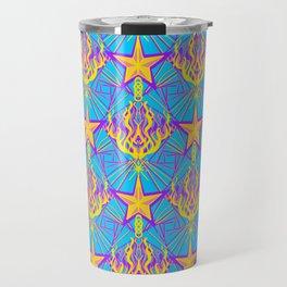 Starfire Kaleidoscope (Apollo Flame) Travel Mug
