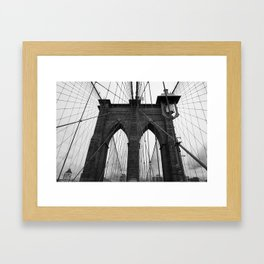bklyn Framed Art Print