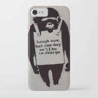 banksy iPhone & iPod Cases featuring Banksy  by Ashley Griswold Photography
