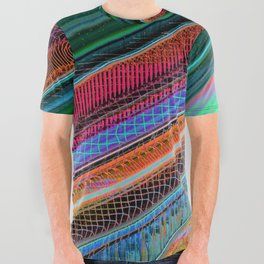 Color Wave ~004~ All Over Graphic Tee