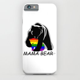 Mama Bear Gay iPhone Case