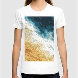Satellite generative illustration T-shirt