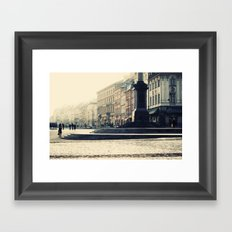 Starówka, Old Town Warsaw Framed Art Print