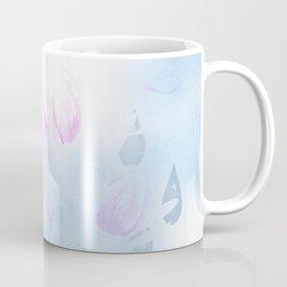 April Showers Bring May Flowers Watercolor Rain Drops Coffee Mug