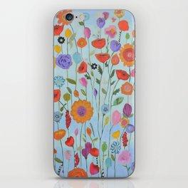 """Garden Whimsy"" iPhone Skin"