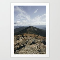 Franconia Ridge Art Print