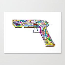 Raygun #5 Canvas Print