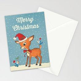 Vintage deer Stationery Cards