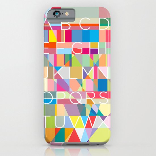 Letters3 iPhone & iPod Case