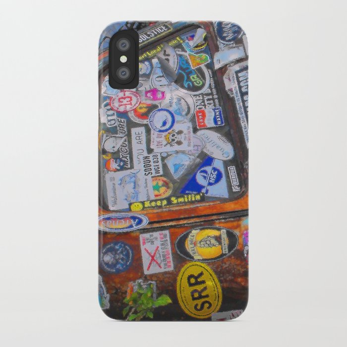 reputable site c1525 a7f00 Stickers iPhone Case by lmglenn