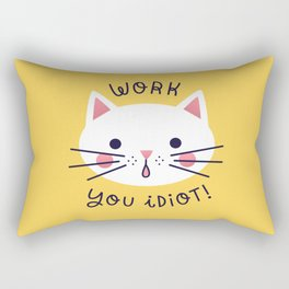 Bossy Cat Rectangular Pillow