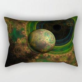 TikTok's Four-Dimensional Steampunk Time Contraption Rectangular Pillow
