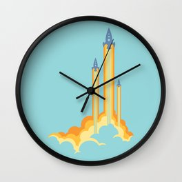 Lift-off! Wall Clock