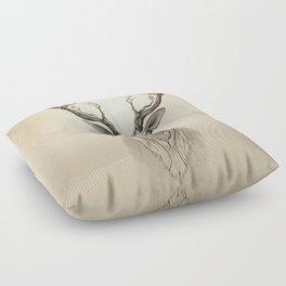 Deer tree Floor Pillow