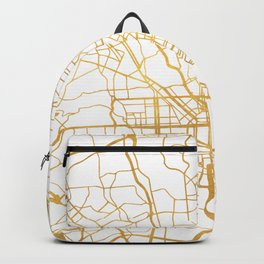 BALTIMORE MARYLAND CITY STREET MAP ART Backpack