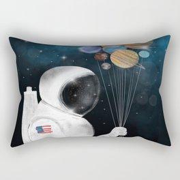 space party Rectangular Pillow