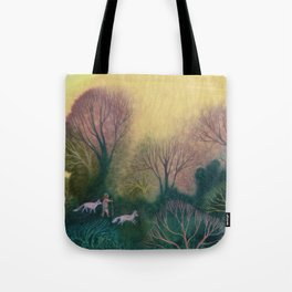 Familiar Woods Tote Bag