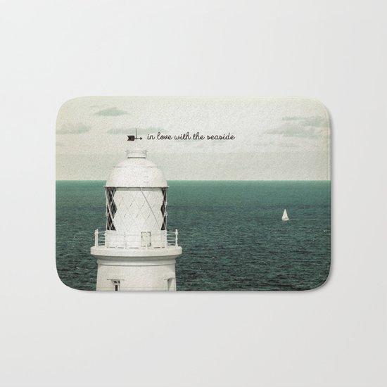 Seaside Lighthouse Bath Mat