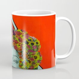 Flower Hair Coffee Mug