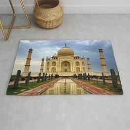 World Popular Taj Mahal Dharmapuri Forest Colony Tajganj Agra Uttar Prades India Asia Ultra HD Rug