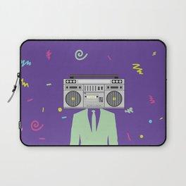 Funk Boombox Man Party Laptop Sleeve
