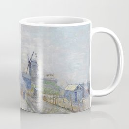Montmartre - Windmills and Allotments by Vincent van Gogh Coffee Mug