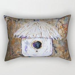 Boreal Bird House Rectangular Pillow