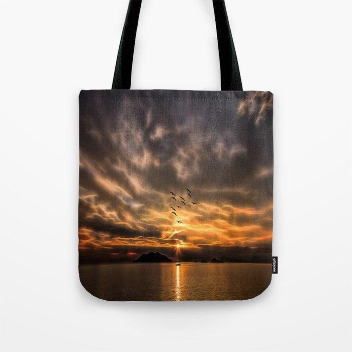 sea art Tote Bag