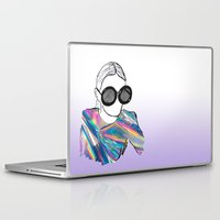 holographic Laptop & iPad Skins featuring Holographic by Fatima khayyat